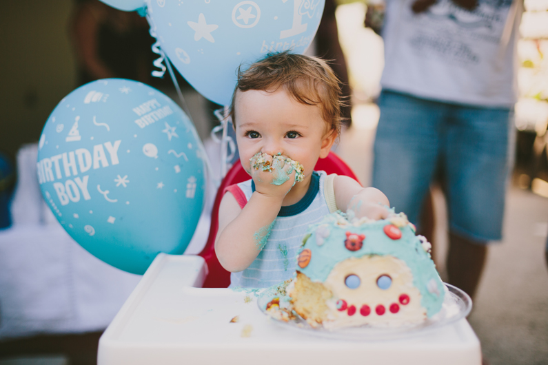 Harry's 1st birthday