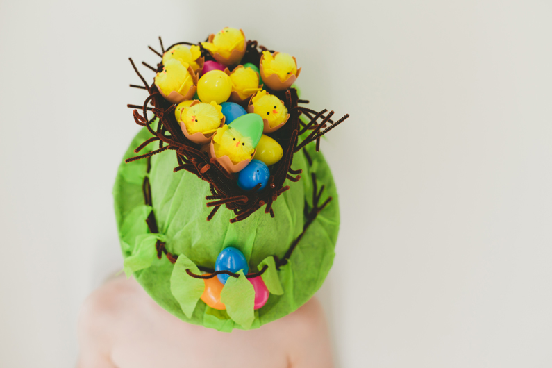 Complete Easter Hat